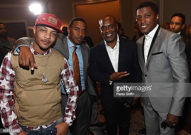 Clifford 'TI' Harris Kawan 'KP' Prather Antonio 'LA' Reid and Kenneth 'Babyface' Edmonds attend the ASCAP Rhythm And Soul 3rd Annual Atlanta Legends...