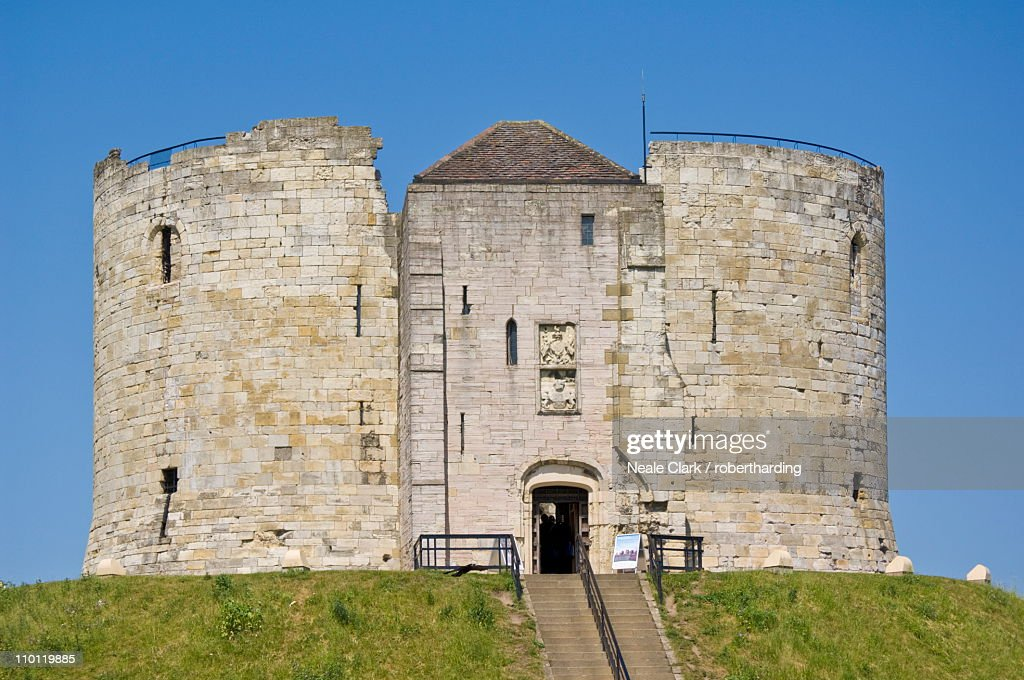 Cliffords Tower The Former Keep Of York Castle Named After Roger De