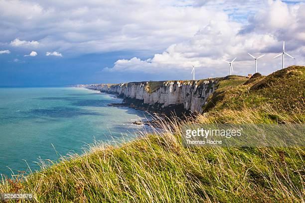 Cliffs near Fecamp, Normandy