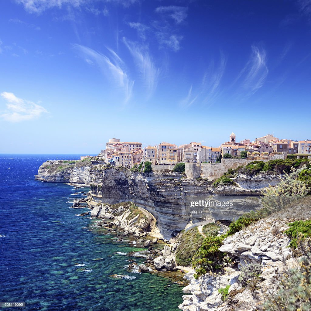 Cliffs of Bonifacio : Stock Photo
