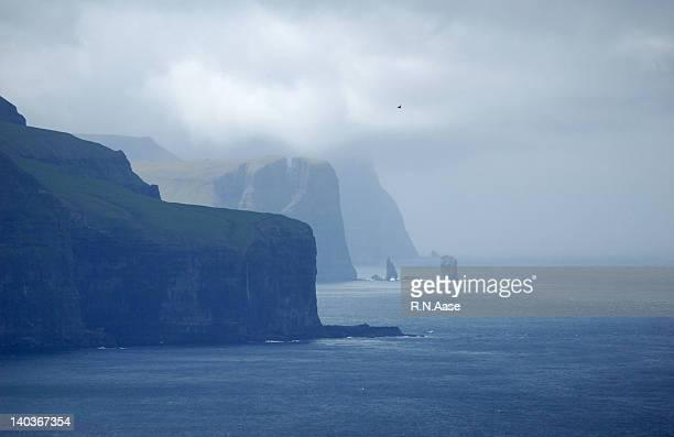 Cliffs of Faroe Islands
