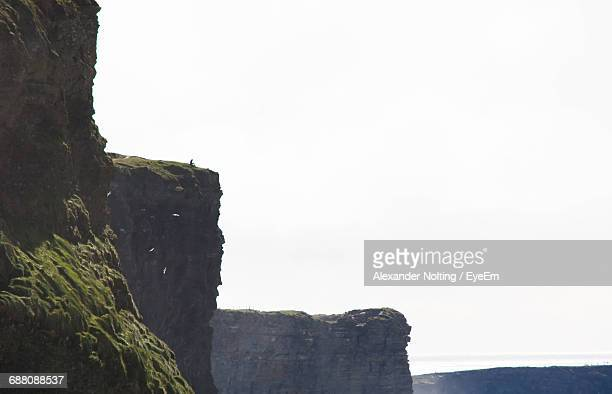 Cliffs Of Moher Against Clear Sky