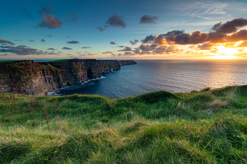 Cliffs of Moher at Sunset 1075763502