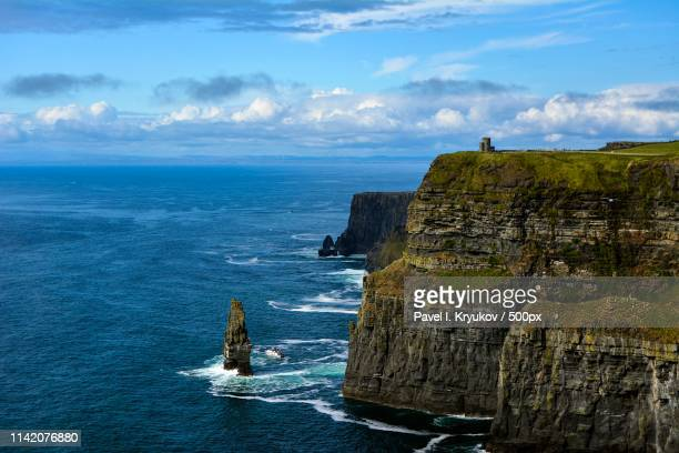 cliffs of moher i - galway stock pictures, royalty-free photos & images