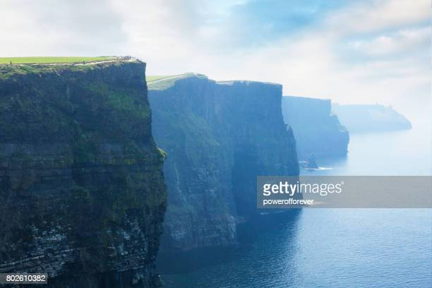 cliffs of moher in county clare, ireland - ireland stock pictures, royalty-free photos & images