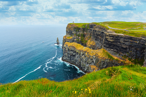Cliffs of Moher in Ireland 674909284