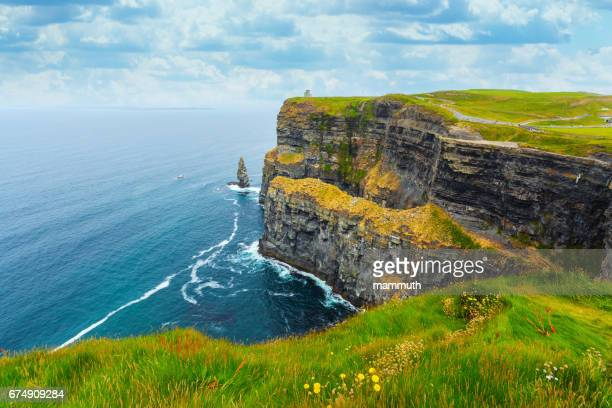 cliffs of moher in ireland - ireland stock pictures, royalty-free photos & images