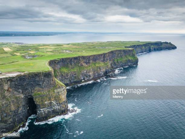 Cliffs of Moher Ireland Aerial View
