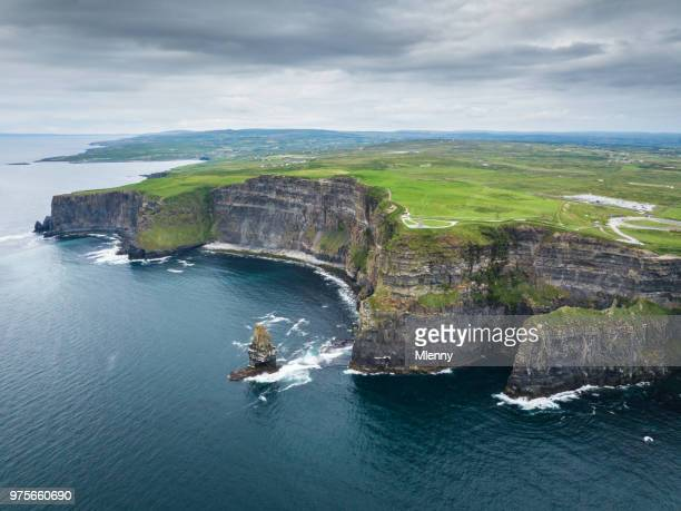 Cliffs of Moher Ireland Aerial Wild Atlantic Way