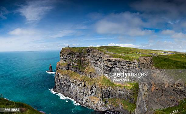 cliffs of moher - county galway stock pictures, royalty-free photos & images