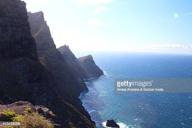 Cliffs on the west coast of Grand Canary island