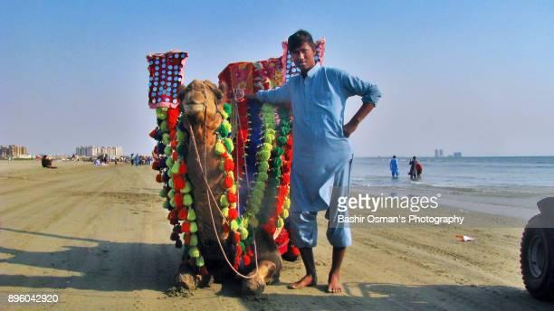 Clifton Beach of Karachi