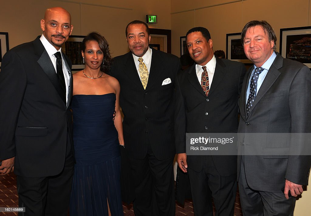 Clifton Camp, Keir Camp, Tommy Dortch, Rodney Keys and Dr.Tony Maleedy attend the VIP Pre Party at the Bronner Bros. ICON Awards Presented By Clairol - Show on February 18, 2013 in Atlanta, Georgia. United States.