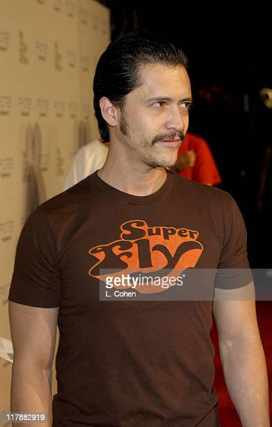 Clifton Collins during Play Station 2 and Mark Wahlberg Host Celebrity Gaming Tournament for Charity Arrivals at Club Ivar in Hollywood California...