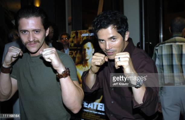 Clifton Collins Jr and John Leguizamo *Exclusive*