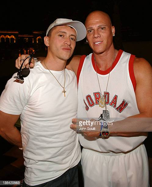 Clifton Collins Jr and Johnny Brenden during CineVegas Film Festival 2005 Vegas Magazine Second Anniversary Party Day 2 at Whiskey Beach at Green...