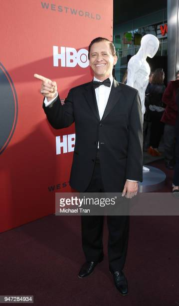 Clifton Collins Jr arrives at the Los Angeles premiere of HBO's Westworld season 2 held at The Cinerama Dome on April 16 2018 in Los Angeles...