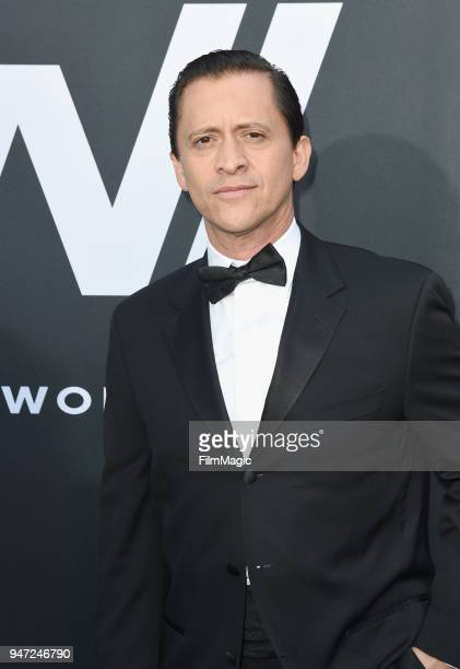 Clifton Collins Jr attends the Los Angeles Season 2 premiere of the HBO Drama Series WESTWORLD at The Cinerama Dome on April 16 2018 in Los Angeles...