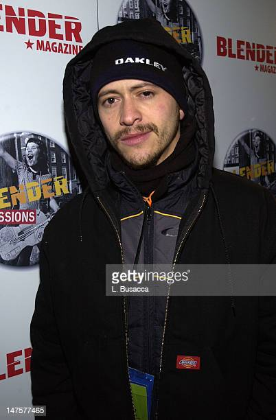 Clifton Collins Jr during 2004 Park City Blender Sessions Trampoline Showcase Featuring Pete Yorn and Special Guest Minnie Driver at Harry O's in...