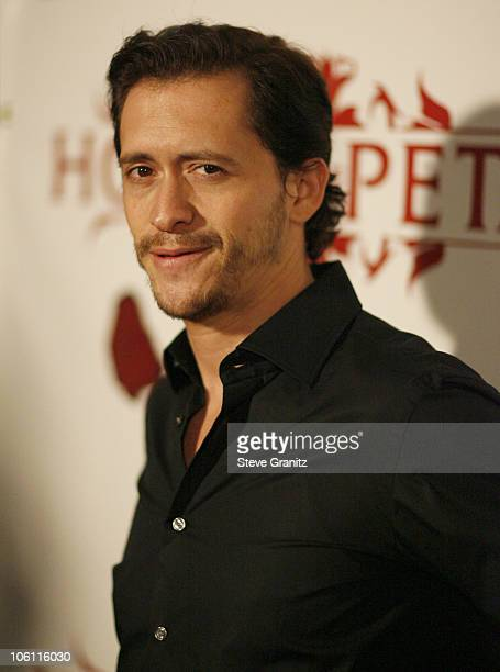 Clifton Collins Jr. During House of Petals presents Harlottique Hosted by Eddie Van Halen at House of Petals in Los Angeles, California, United...