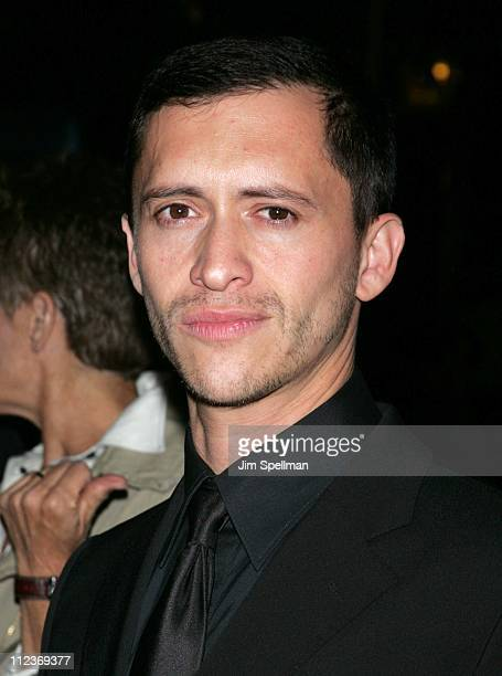 """Clifton Collins Jr. During New York Film Festival - """"Capote"""" Premiere - Arrivals at Alice Tully Hall, Lincoln Center in New York City, New York,..."""