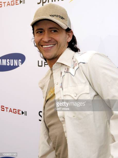 Clifton Collins Jr during Samsung and Sprint Present the UpStage Country Club Red Carpet and Inside at Private Residence in Beverly Hills California...