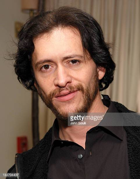 Clifton Collins Jr during Stuart Weitzman at the W Magazine PreGolden Globe Party at Sunset Towers in West Hollywood California United States