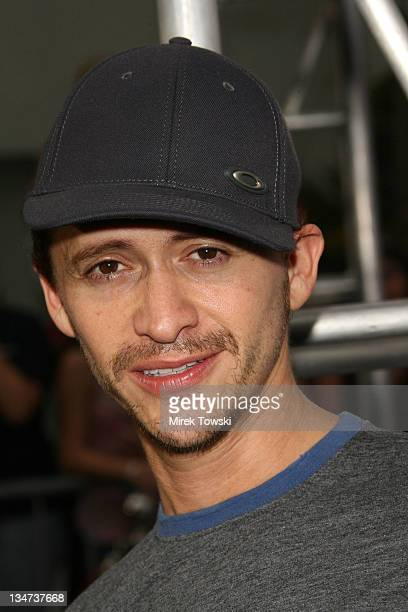"""Clifton Collins Jr. During """"Talladega Nights"""" Los Angeles Premiere - Arrivals at Grauman's Chinese Theater in Hollywood, California, United States."""