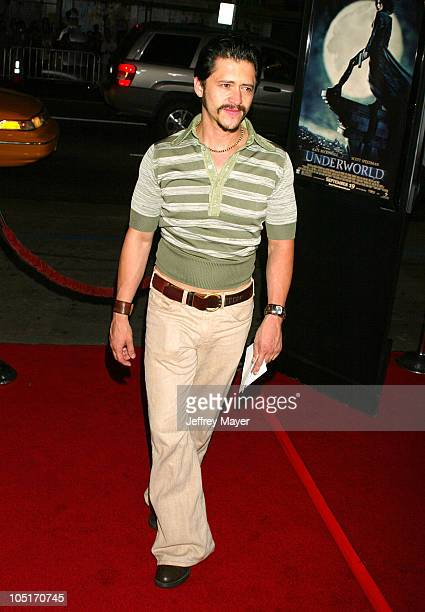 Clifton Collins Jr during 'Underworld' Premiere Hollywood at Mann's Chinese Theatre in Hollywood California United States