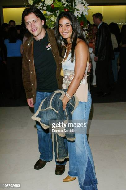 Clifton Collins Jr Emmanuelle Chriqui during Smirnoff Ice Endeavor Talent Agency PreParty For The MTV Movie AwardsInside The Astra West In West...