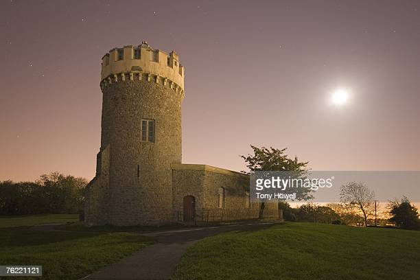 Clifton Observatory, Night, Bristol, England