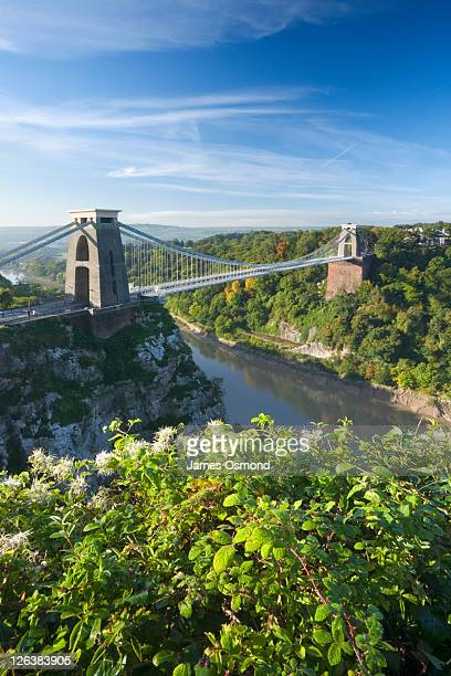 clifton suspension bridge, bristol, england, uk - bristol stock pictures, royalty-free photos & images