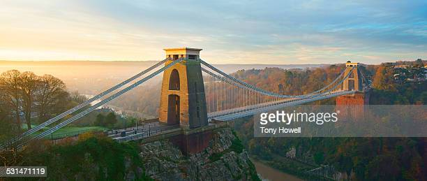 Clifton Suspension Bridge, Dawn