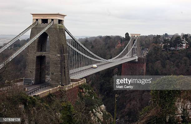 Clifton Suspension Bridge is seen close to the flat of Joanna Yeates the 25yearold landscape architect who was found dead on Christmas Day after she...