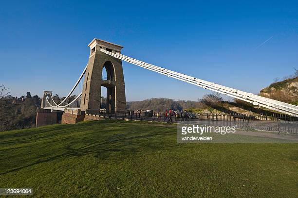 clifton suspension bridge - bristol england stock pictures, royalty-free photos & images