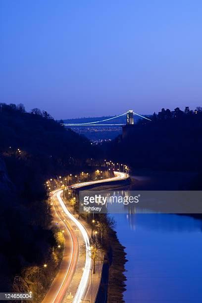 clifton suspension bridge - bristol stock photos and pictures