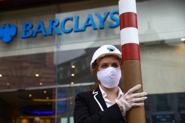 GBR: Climate Activists Target Barclays Plc Over Coal Investments