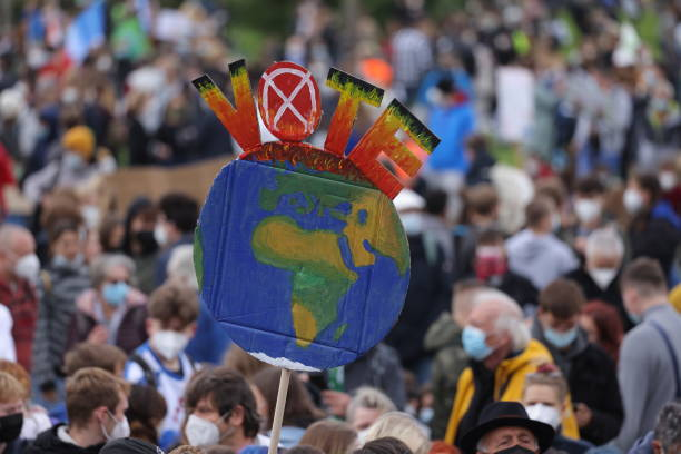DEU: Fridays For Future Holds Berlin Climate Strike March