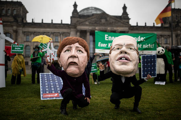 DEU: Climate Activists Protest For Faster Expansion Of Renewable Energy Production