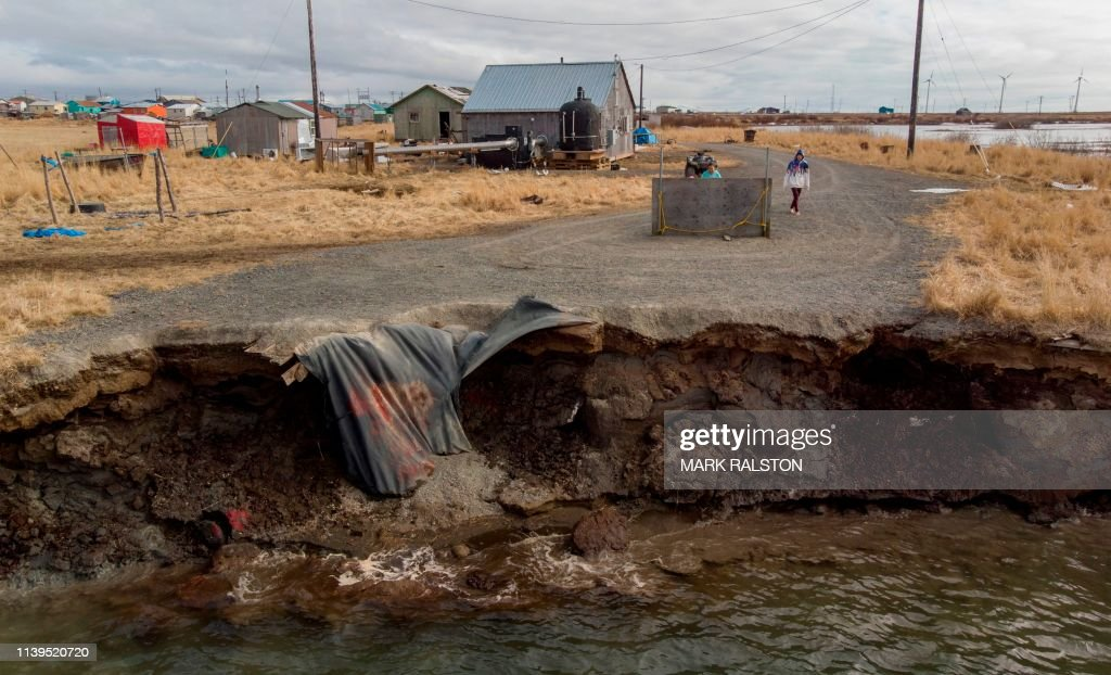 US-ALASKA-ENVIRONMENT-CLIMATE : News Photo
