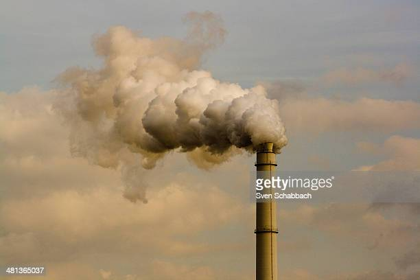 Climate change? Industry chimney