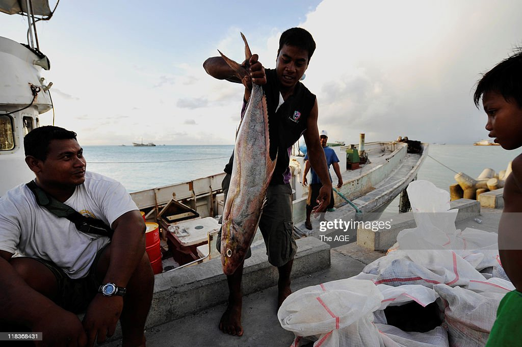 Climate change, Kiribati Islands : News Photo