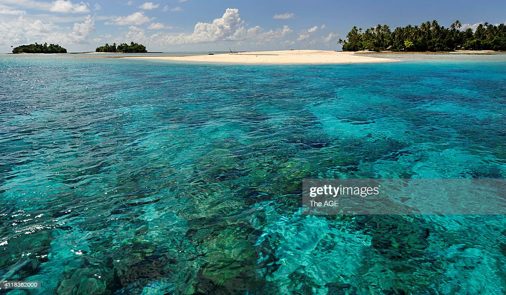 Climate change, Kiribati Islands : News Photo