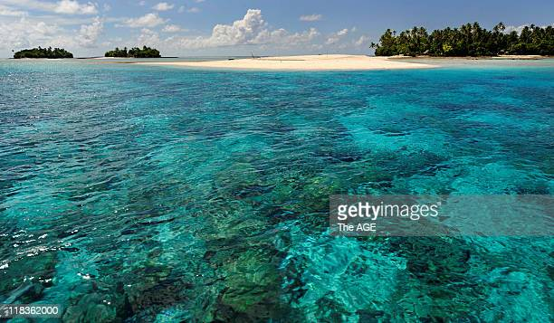 Climate change Kiribati Islands The islands of Abaiang demonstrate that much of the archipelago is not more than a few meters above sea level
