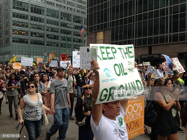 Climate Change March NY City Sept 21 2014