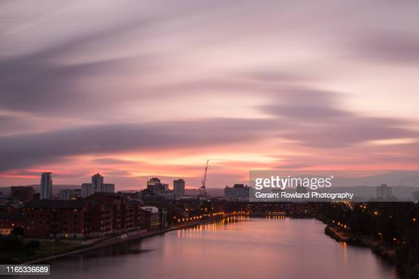 climate change, uk - cardiff stock pictures, royalty-free photos & images