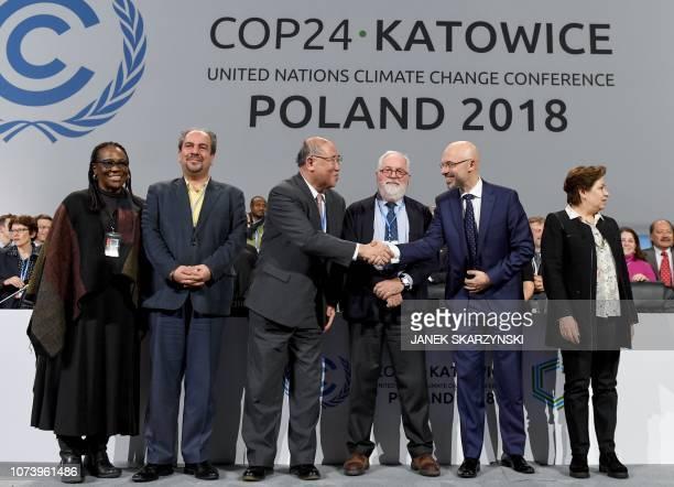 UN climate chief Patricia Espinosa Iran's head of delegation Majid Shafiepour Motlagh China's top climate negotiator Xie Zhenhua European Union's...
