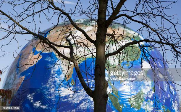 Climate Conference in Bonn In the approximately 20m high walkin globe Climate Planet will be fully informed about climate change and its consequences...