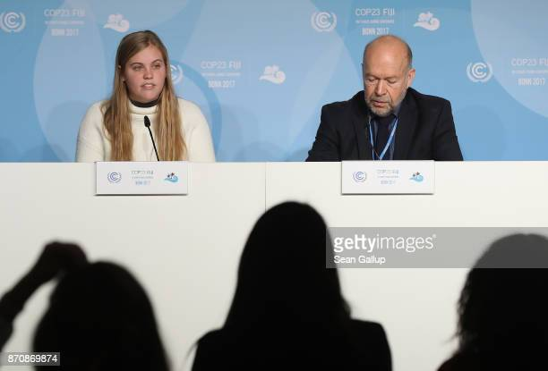 Climate expert and activist James Hansen and his granddatughter Sophie Kivlehan who is among 21 young plaintiffs in the federal lawsuit Juliana vs US...
