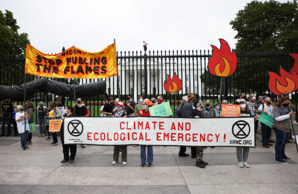 DC: Climate Activists Continue Protests On Capitol Hill